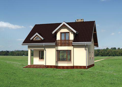 Projekt domu Ścibor
