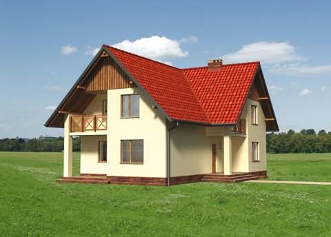 Projekt domu Sezam