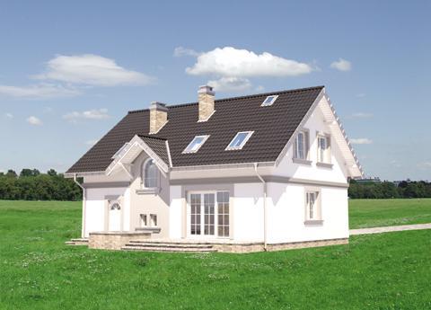 Projekt domu Skarbek