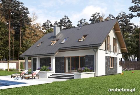 Projekt domu Skarbek As