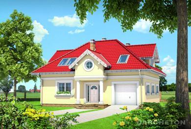 Projekt domu Skarbek Karo