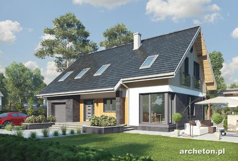 Projekt domu Skarbek Polo