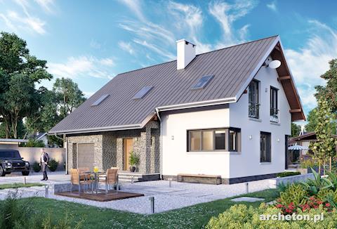 Projekt domu Skarbek Rex