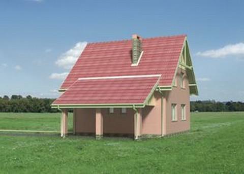 Projekt domu Skrzat