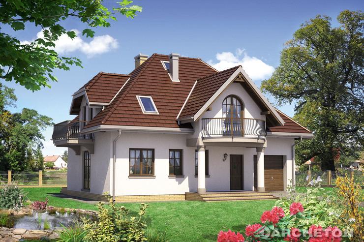 Projekt domu Ślężan