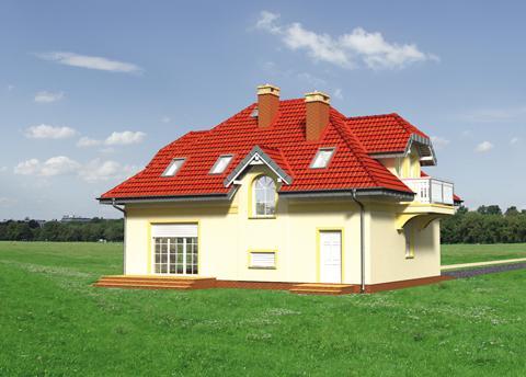 Projekt domu Ślężan Alter