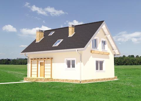 Projekt domu Smolik Energo