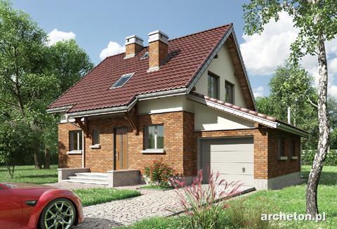 Projekt domu Smyk-2
