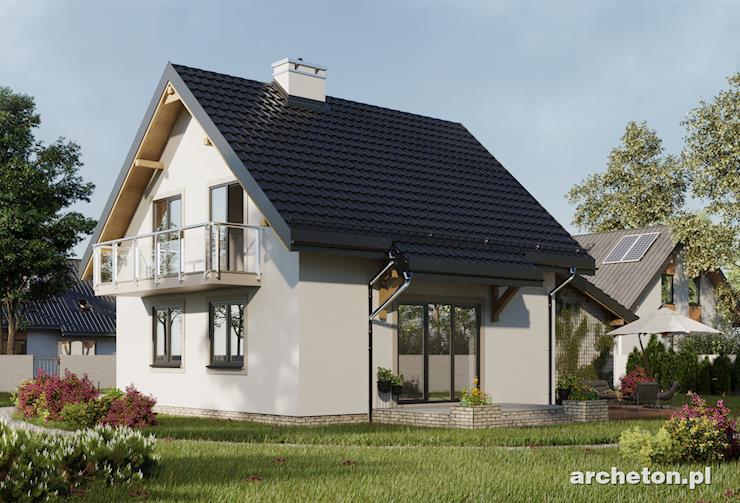 Projekt domu Smyk As - przytulny domek, idealny dla 4 osób
