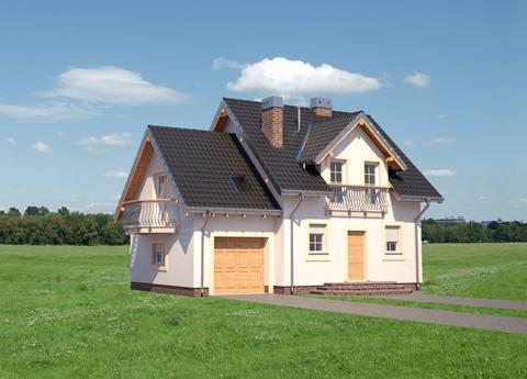Projekt domu Smyk Prima