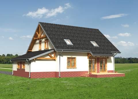Projekt domu Sójka