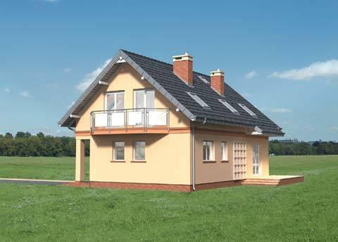 Projekt domu Spinka Midi