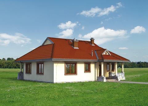 Projekt domu Spytko
