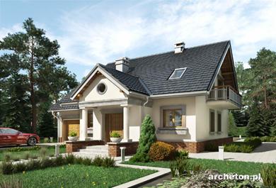 Projekt domu Staś Lux