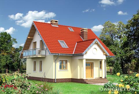 Projekt domu Staś Retro