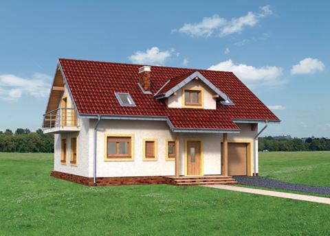 Projekt domu Stella