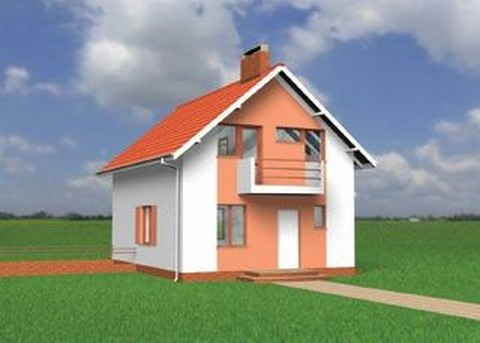 Projekt domu Stokrotka