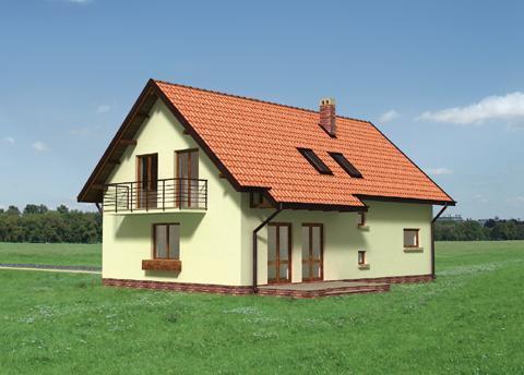 Projekt domu Storczyk