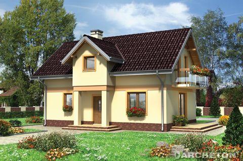 Projekt domu Strączek