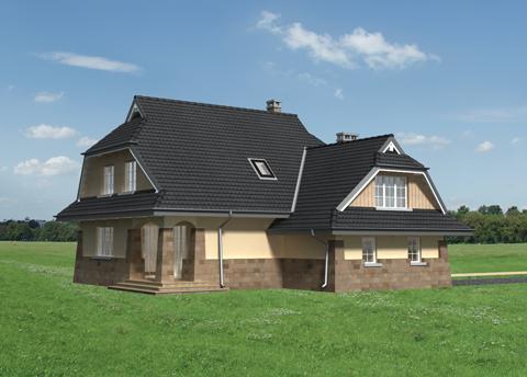 Projekt domu Struga