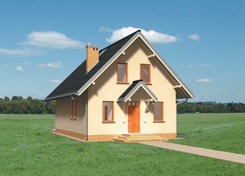 Projekt domu Supełek
