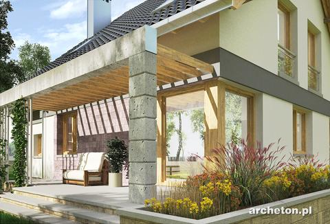 Projekt domu Świetlik