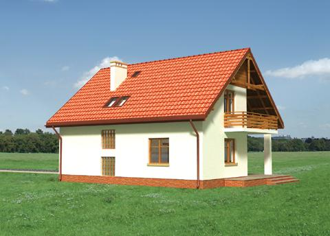 Projekt domu Świstak