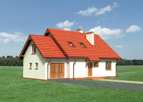 Projekt domu Sybilla