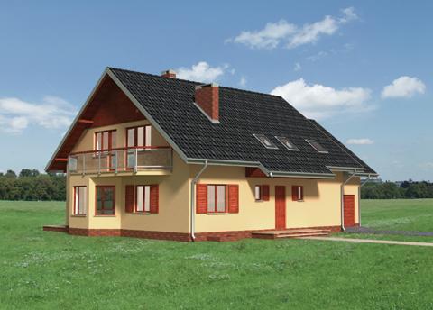 Projekt domu Sybilla-3
