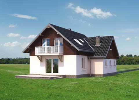 Projekt domu Sylwin