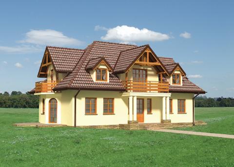 Projekt domu Szafran