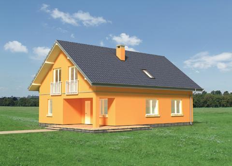 Projekt domu Tamaryszek