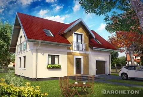 Projekt domu Tarot Eko
