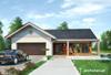 Projekt domu Telma Solis - dom parterowy o przestronnym wnętrzu, z garażem na dwa samochody