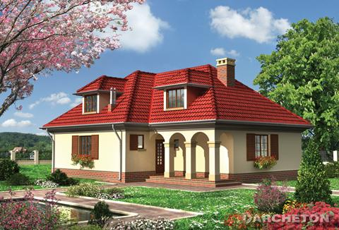 Projekt domu Teodor