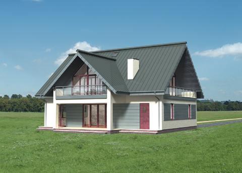 Projekt domu Tetra