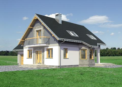 Projekt domu Tezeusz