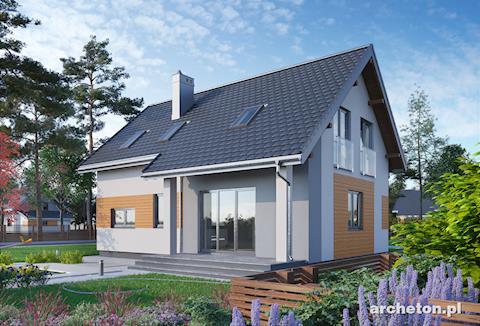 Projekt domu Tibor
