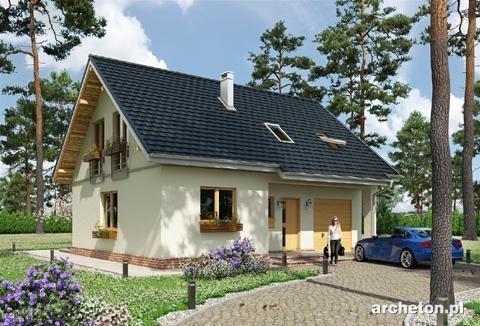 Projekt domu Tomir