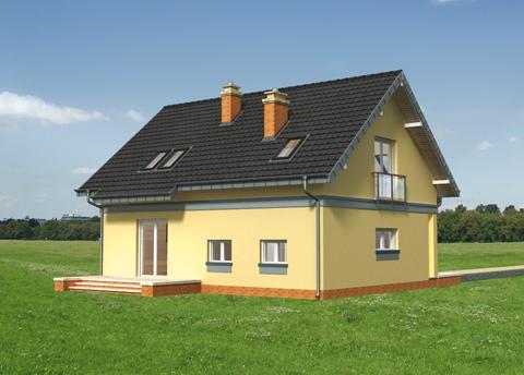 Projekt domu Tomir As
