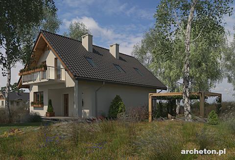 Projekt domu Tosia