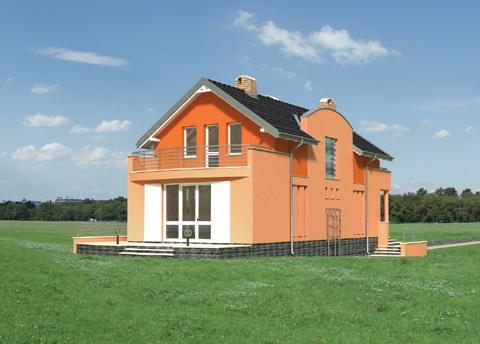 Projekt domu Traszka