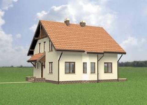 Projekt domu Trzmiel