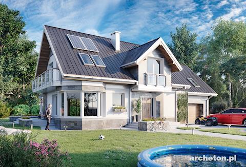 Projekt domu Turkus Rex