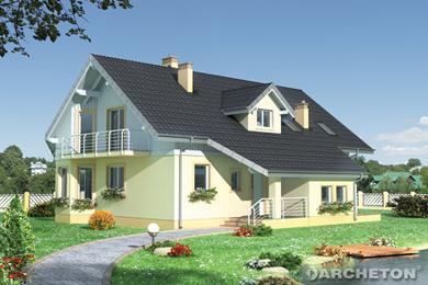 Projekt domu Turmalin