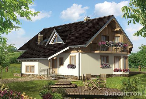Projekt domu Turmalin Feluś