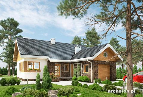 Projekt domu Tymianek