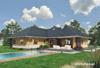 Projekt domu Tymoteusz - dom parterowy na planie litery T, z funkcjonalnym i przestronnym wnętrzem