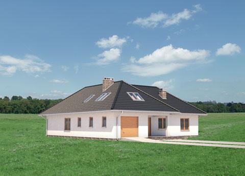 Projekt domu Tymoteusz-2