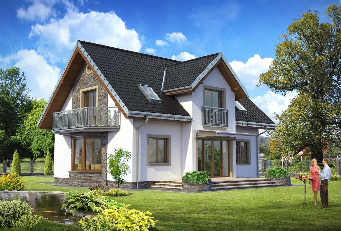 """Проект дома """"титус"""" - строительная компания в киеве """"зодчие""""."""